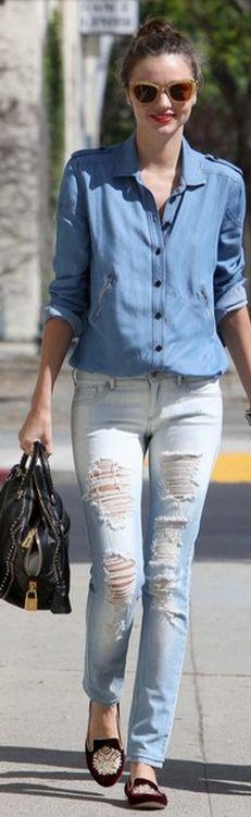 mango jeans - miranda kerr