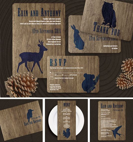 Cute Rustic Wedding Ideas: This Is So Cute! Especially For Menus I Think