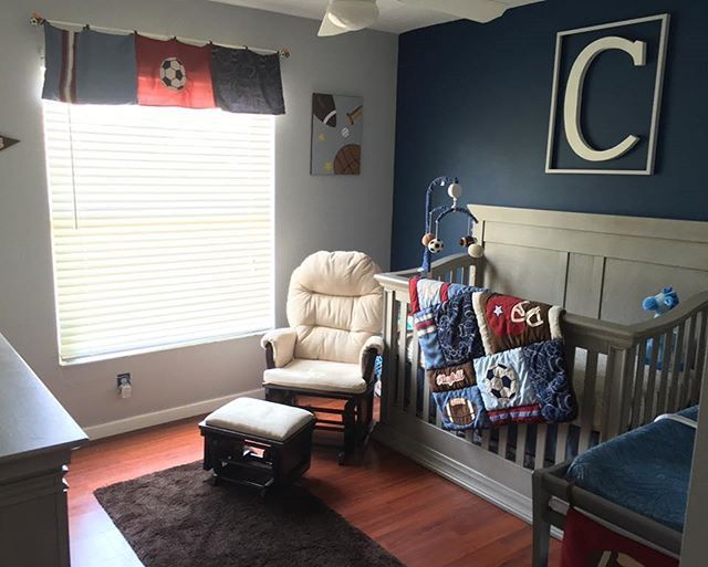 25 Best Ideas About Sports Nursery Themes On Pinterest