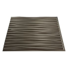 Fasade Modern Ceiling Tile (Common: 24-in x 24-in; Actual: 23-in x 23-in)