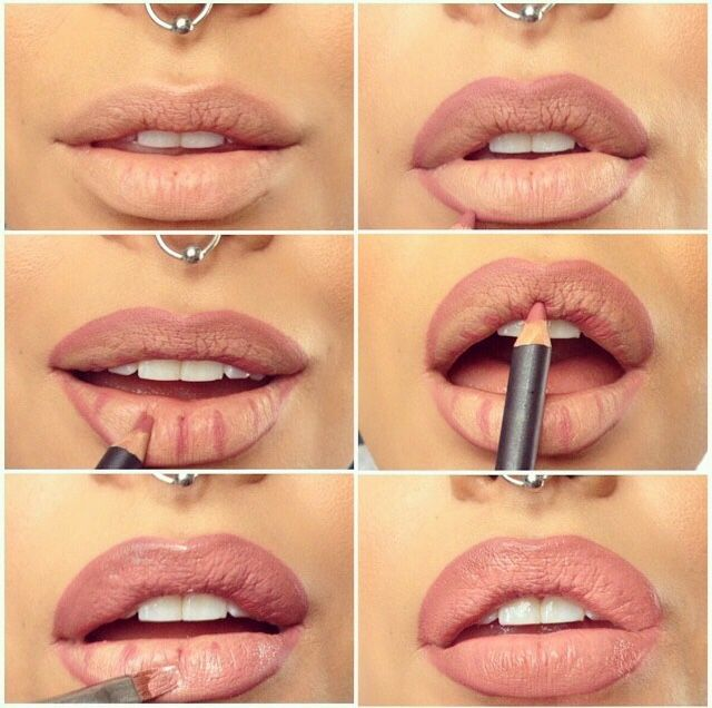 Best Lips # Step By Step !