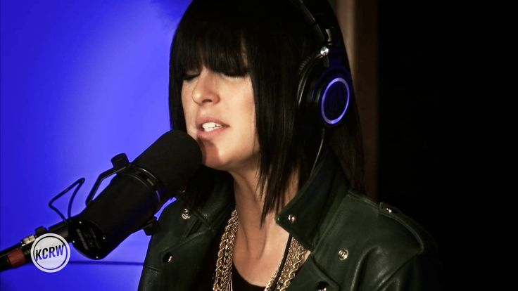 "Phantogram performing ""Fall In Love"" Live on KCRW - My sister told me about this band a while ago, don't know what took me so long to listen to them! So loving this song right now!"