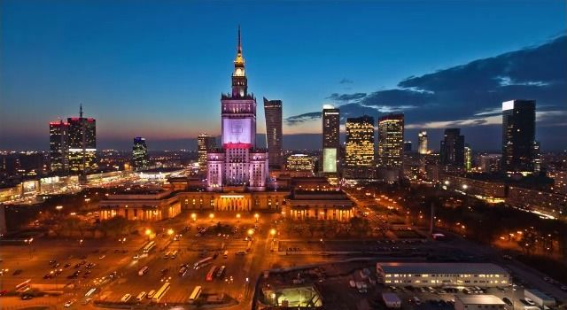 Timelapse: Warschau, die Hauptstadt Polens