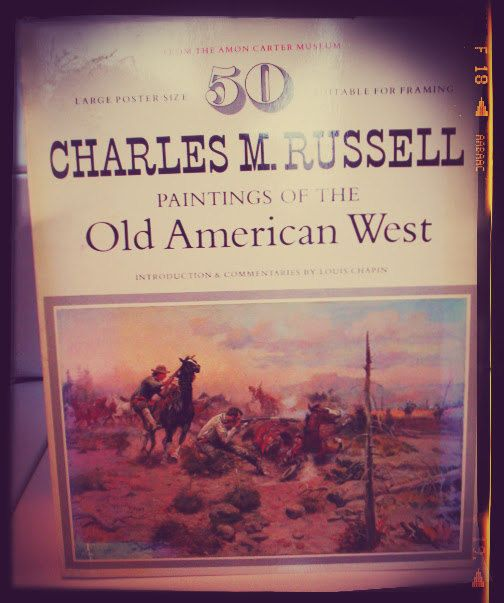 Vintage  Charles M Russel Old American West  50 by PortaPortese
