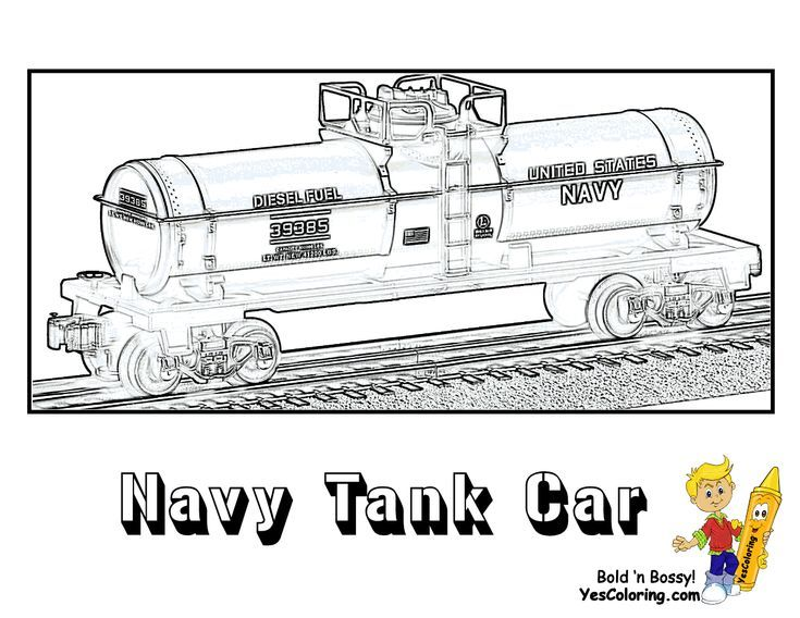 Pin By Jimmy Griffin On Toy Trains In 2020 Train Coloring Pages Coloring Pictures Navy Tank