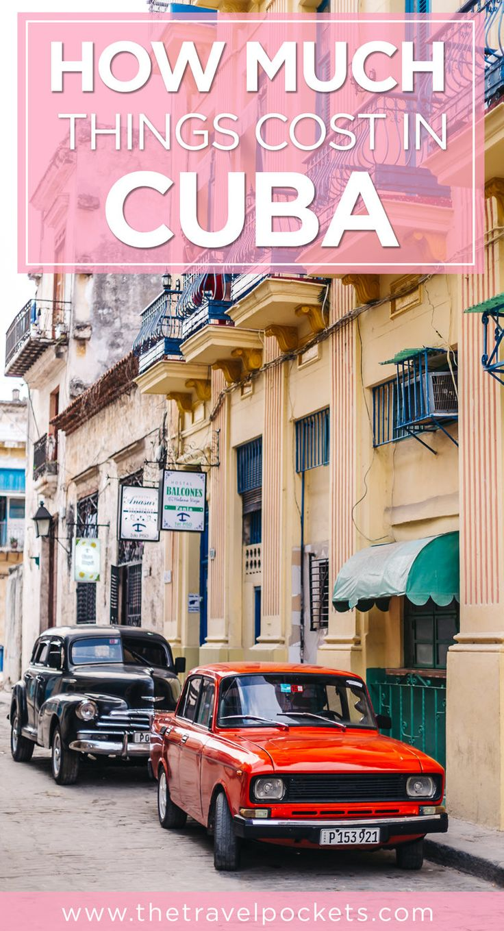 We break down how much things cost in Cuba so you can estimate how much you'll need for your trip.