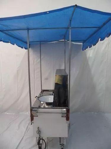 carrinho de lanches 4 em 1( hot dog,chapa, batata ou pastel)