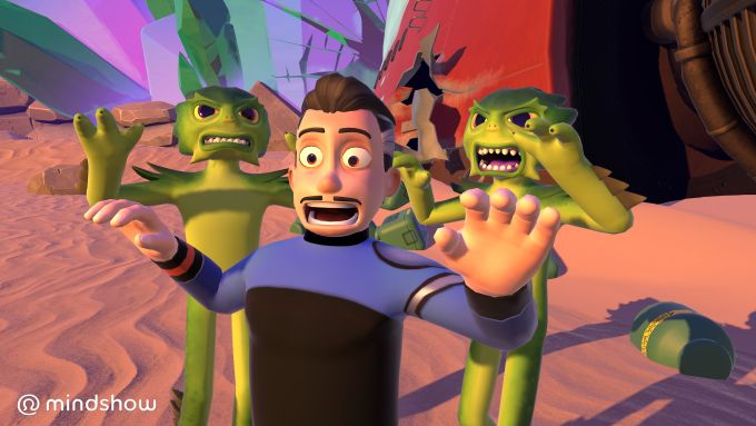 Mindshow a Pixar-esque VR movie creator launches on HTC Vive