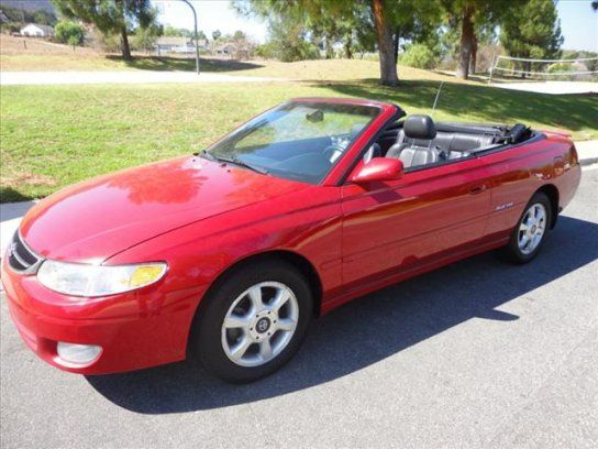 Convertible, 2001 Toyota Solara SLE V6 with 2 Door in Thousand Oaks, CA (91320)