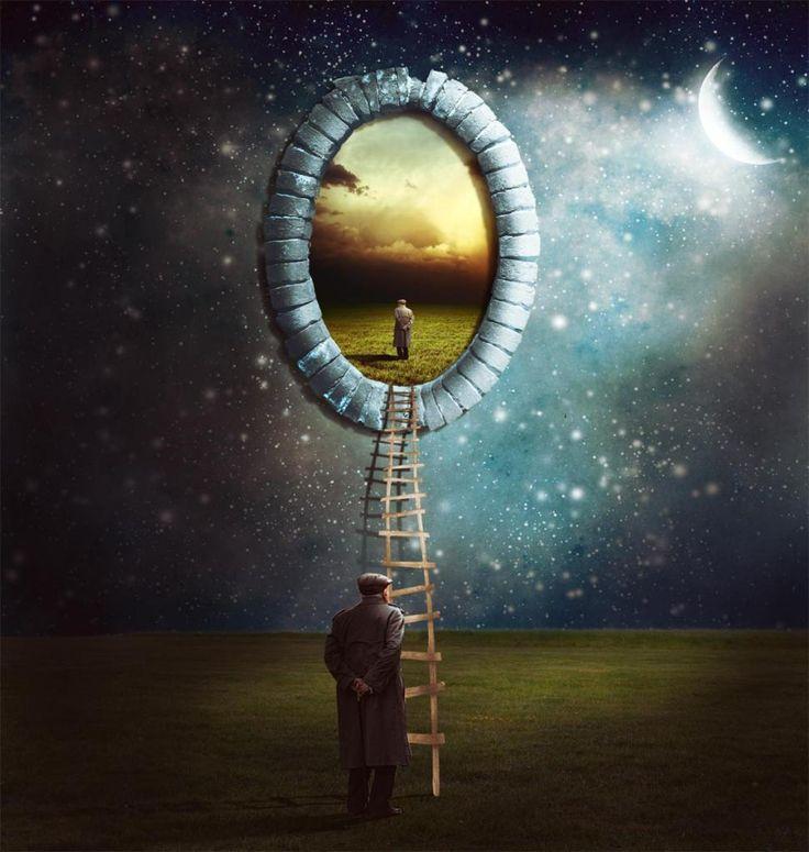 Les 12 meilleures images propos de mise en abime sur for Se voir dans un miroir