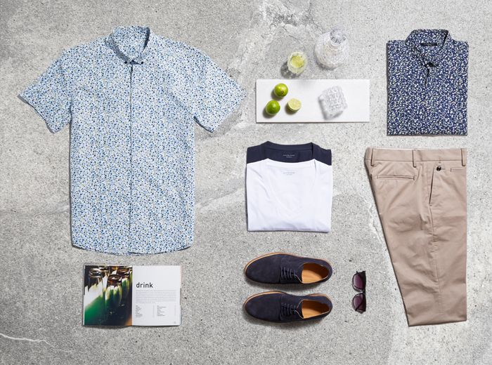 Shake up the summer look with short sleeve shirts