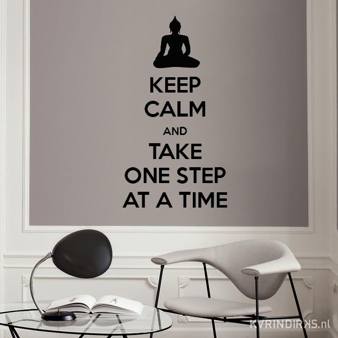 muursticker keep calm | woonkamer stickers | €39,95