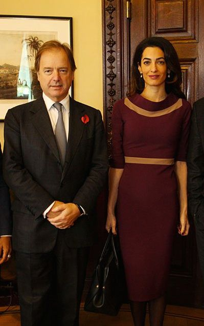 The elegant and sophisticated Amal Clooney in S-Dress Ava - by ethical fashion brand, S-Dress