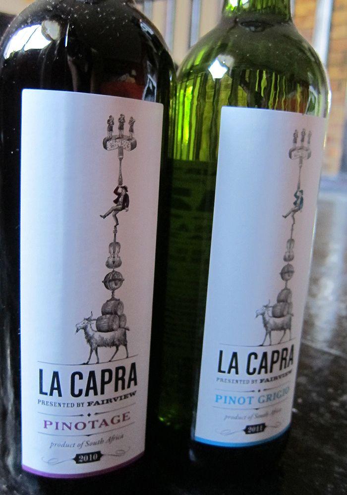 La Capra Wine, Cape Town
