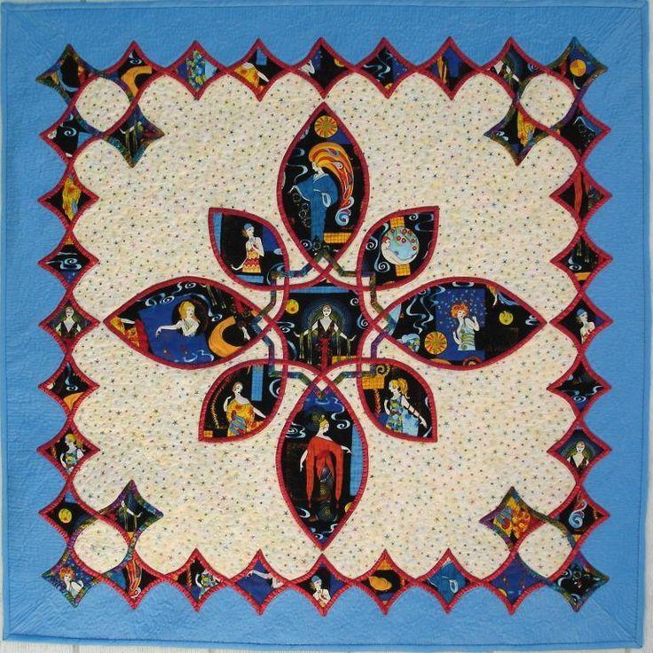 306 best Patchwork celtic knot keltský uzol images on