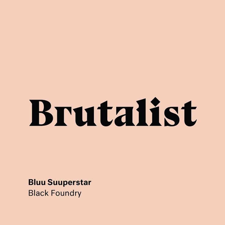"1,015 Likes, 13 Comments - Type Type (@type__type) on Instagram: ""Bluu Suuperstar by Jean-Baptiste Morizot @blackfoundry . . . . . . . . . . #blackfoundry…"""