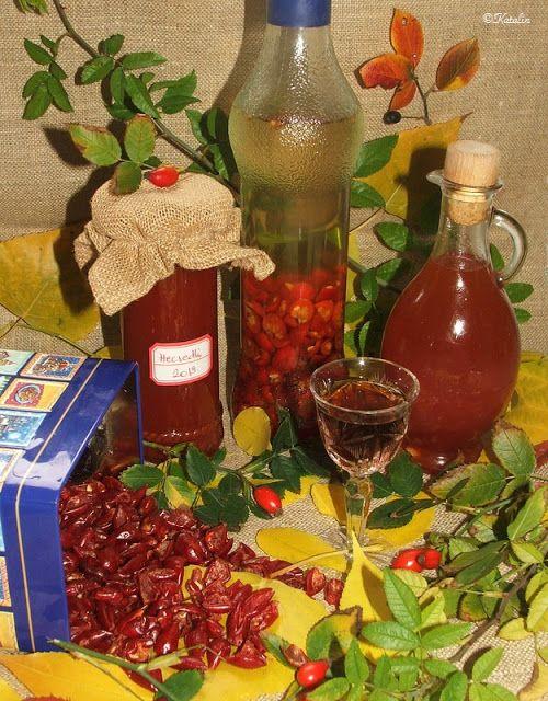 Katalin konyhája: Hecsedli (csipkebogyó) lekvár, szörp, tea és likőr - újra