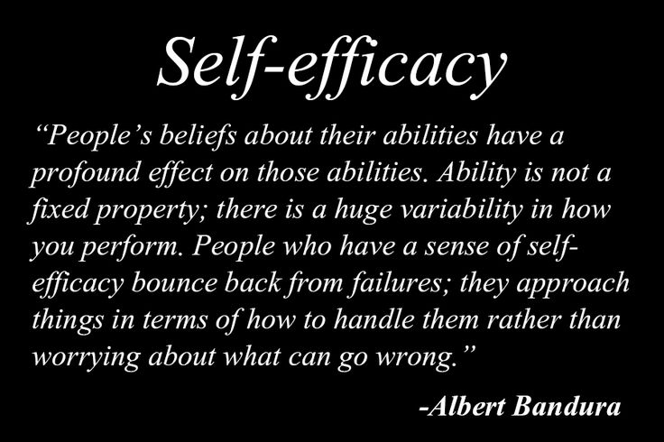 """Self-efficacy"" by Albert Bandura [excerpt from Daniel Goleman's Emotional Intelligence]"