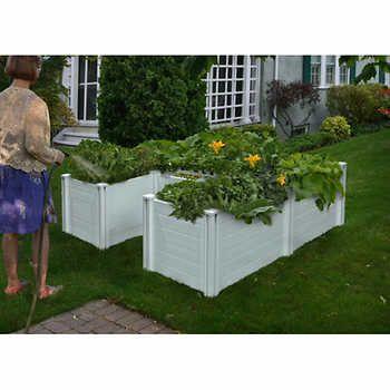 6 ft. x 6 ft. Composting Keyhole Garden Bed