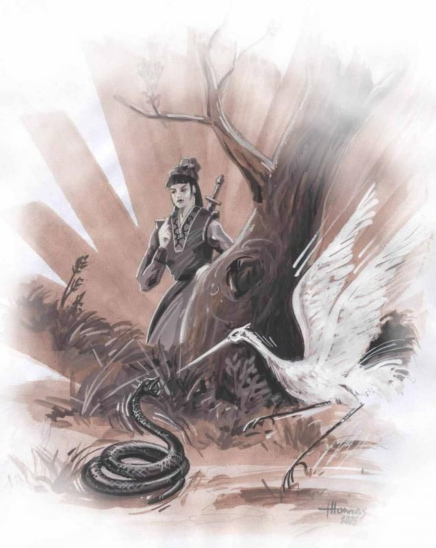 Ng Mui - was a Shaolin monastery abbess who created a kung fu system especially suitable for women.