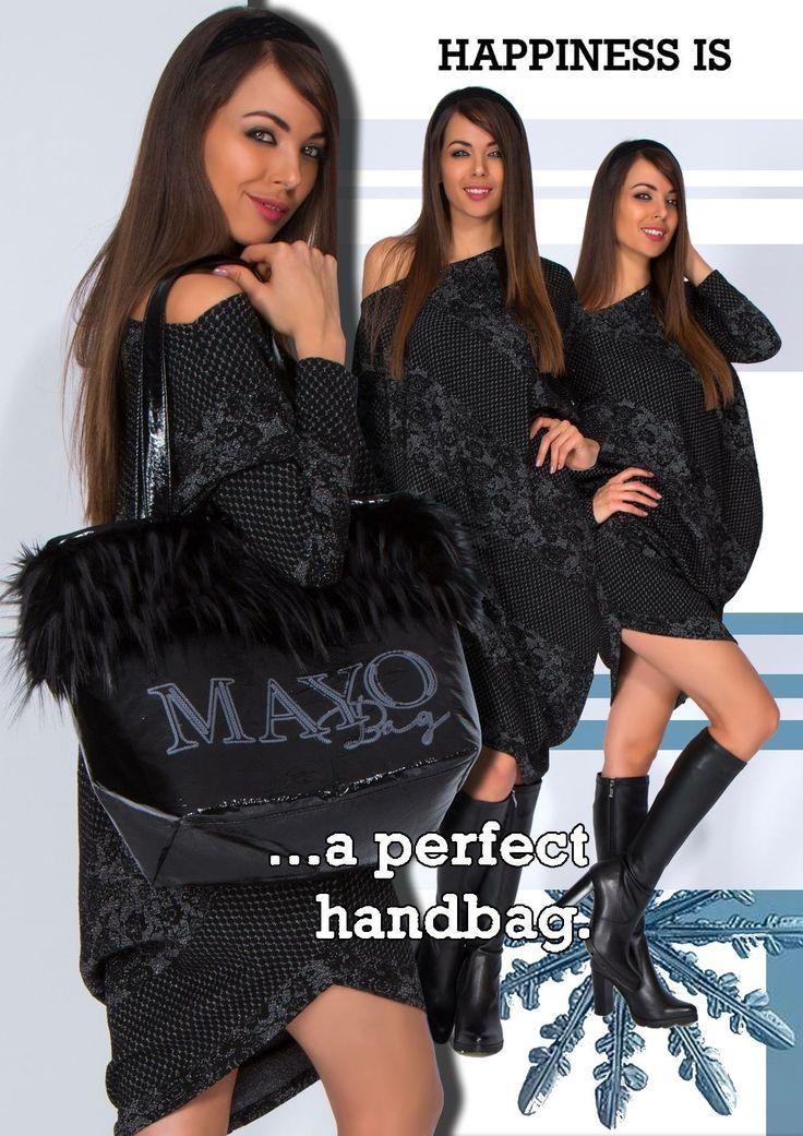 #mayochix #zoe #tunic #pronto #bag #fashion #black #whattowear #pinterest