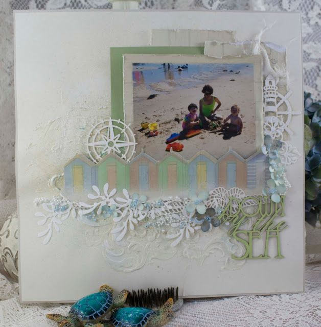 Artdeco Creations Brands: Down by the Sea | Guest Designer Denise Boddey