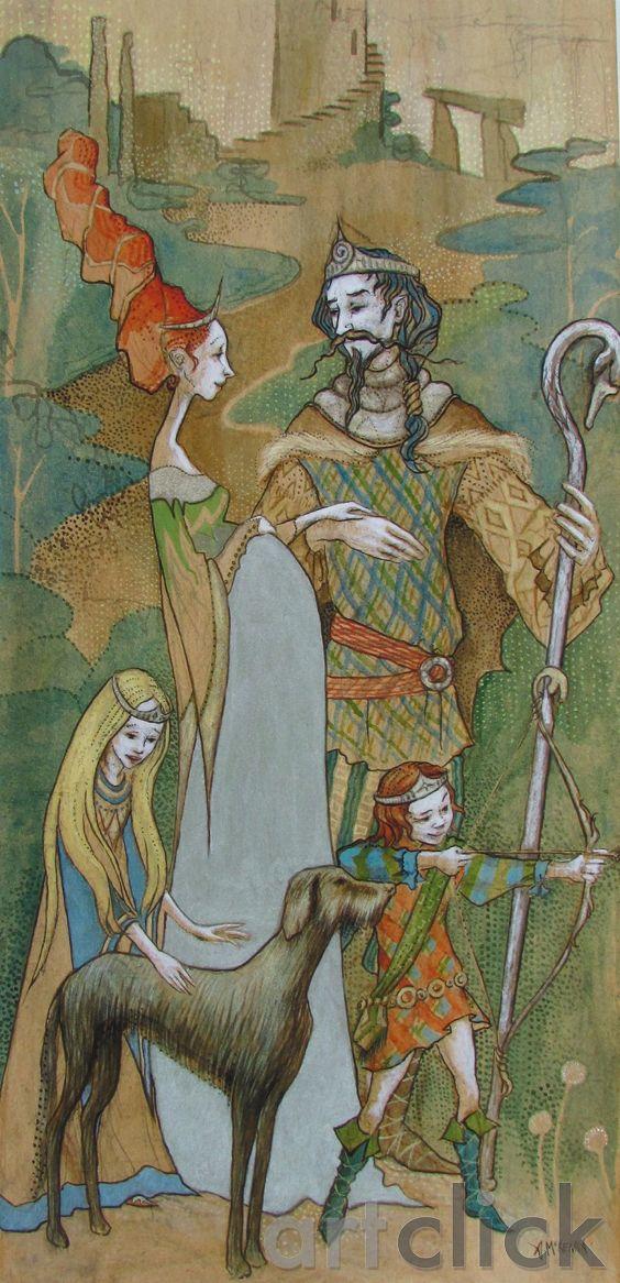Lir agus Aoibh II by Ann McKenna on ArtClick.ie