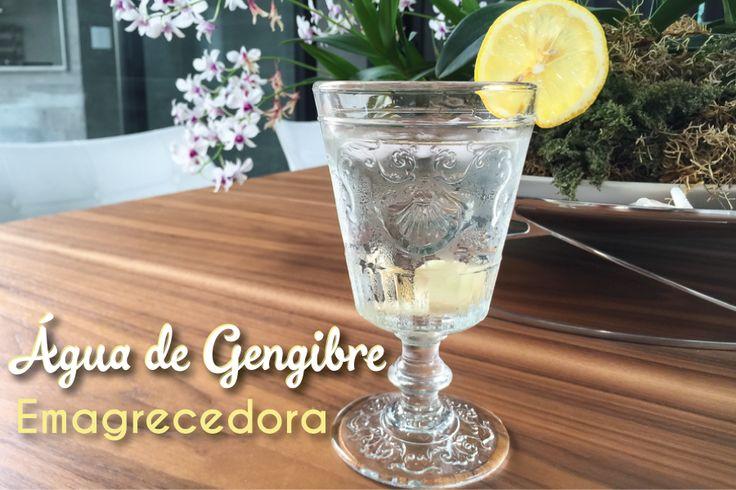 Água de gengibre emagrecedora - Blog da Mimis - Uma das formas de consumir o gengibre e aproveitar todos os seus benefícios é fazendo uma água saborizada.