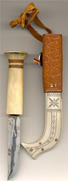 Äldre Same kniv sign.J Poggats på Tradera.com - Knivar från Skandinavien