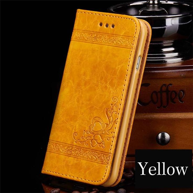 Genuine Leather Wallet iPhone Case