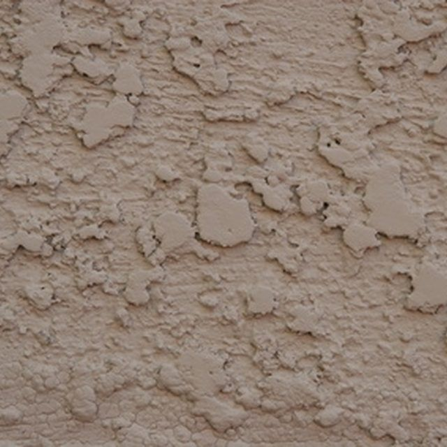 How to paint rough stucco with a roller paint cinder for Concrete block stucco