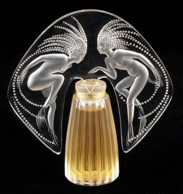 Art Deco perfume bottle