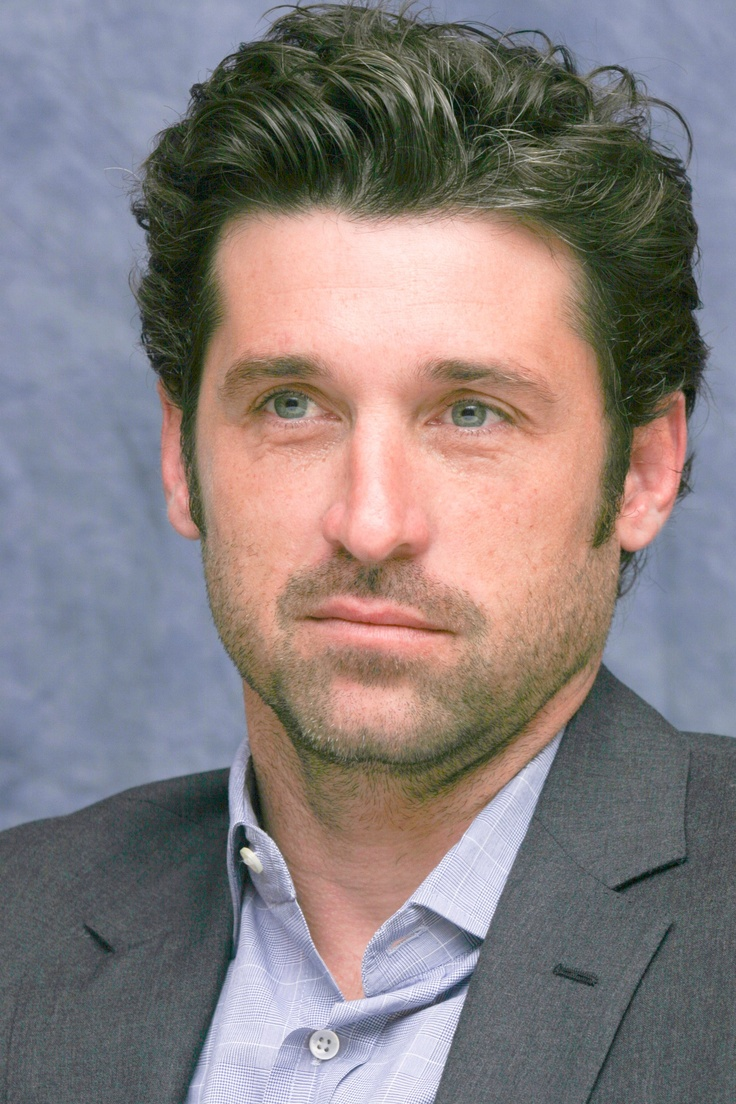 Patrick Dempsey-- doesn't get much hotter than this