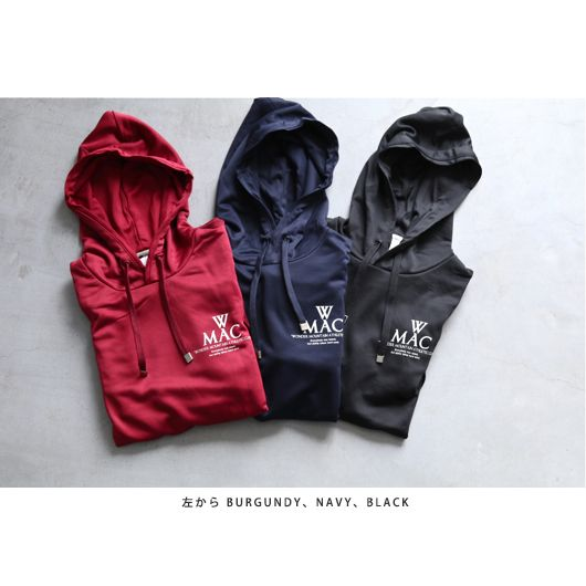 "WONDER MOUNTAIN ATHLETIC CLUB(ワンダーマウンテン アスレチック クラブ) ""Training Parka No.01 - Dry Jersey -"""