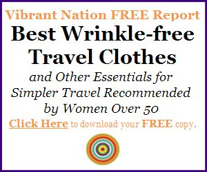 Via @VibrantNation Great #Travel packing advice for women over 50!