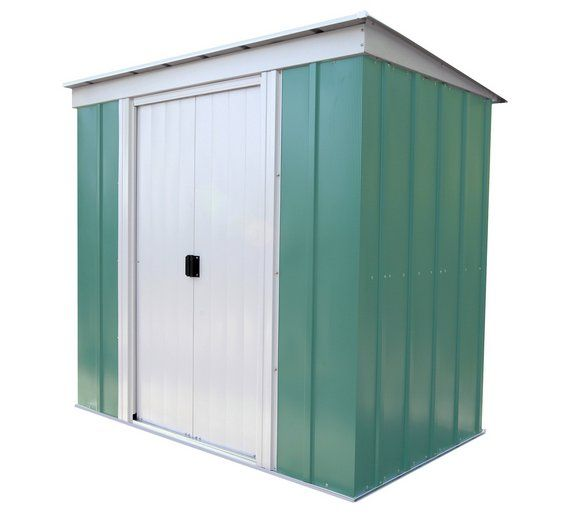 Buy Arrow Pent Metal Garden Shed - 6 x 4ft at Argos.co.uk, visit Argos.co.uk to shop online for Sheds, Sheds and bases, Conservatories, sheds and greenhouses, Home and garden
