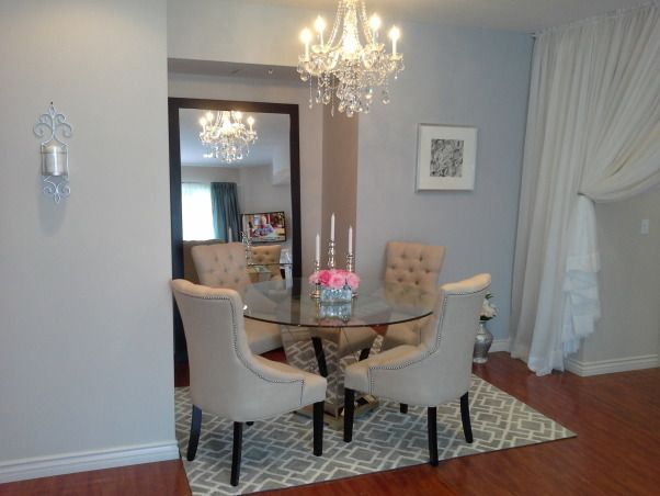 Hollywood Chic Apartment Perfect Dining Area For Small