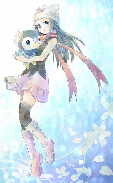 This is me. My first pokemon game was pearl and my first starter pokemon was Piplup which I named Pingu.