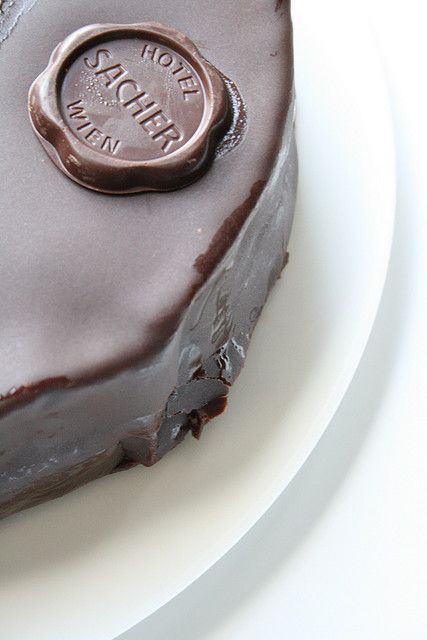 There will be no explanation for this famous Sacher Torte...who knows, knows!