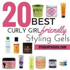 Curly Girl Method Friendly Styling Gels