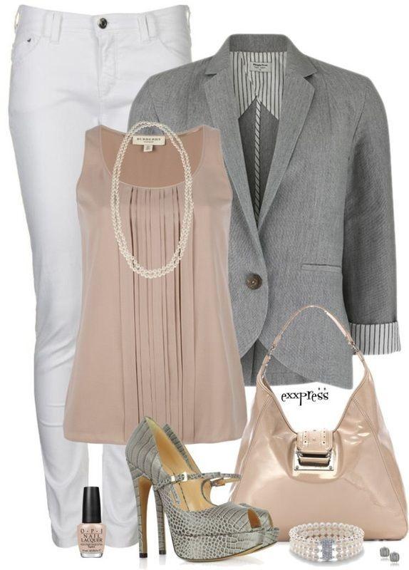 Work Outfit by johanna.o.roman
