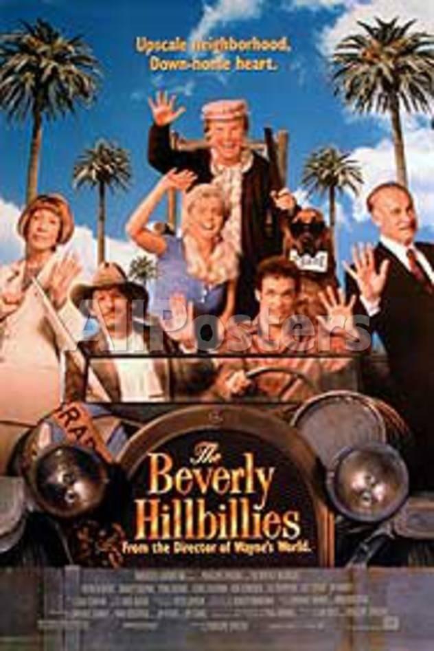 The Beverly Hillbillies (Erika Eleniak, Jim Varney) Movie Poster Movies Original Poster - 69 x 102 cm