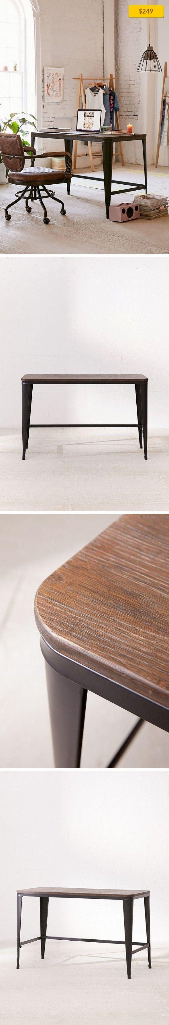 Luxury Wood and Metal Bar Stools