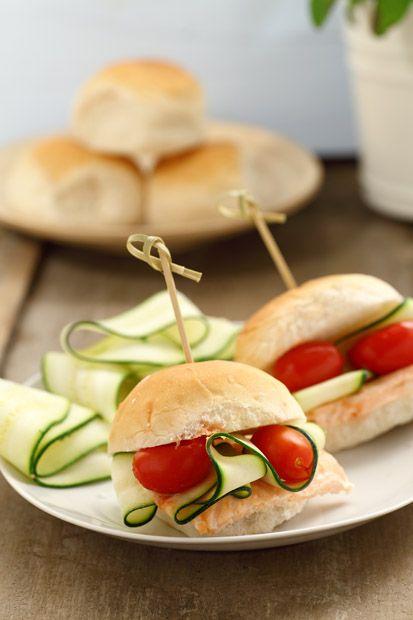 Ricetta Mini hamburger marinari   Cirio