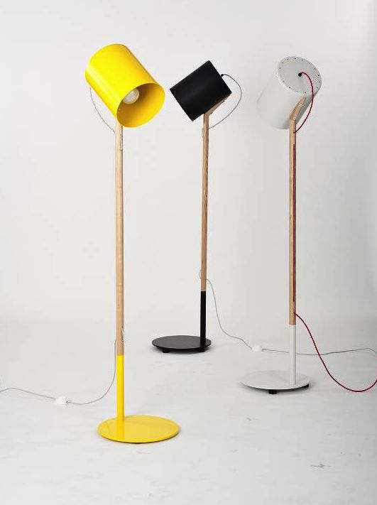 Yellow. Lamp. Awesome.