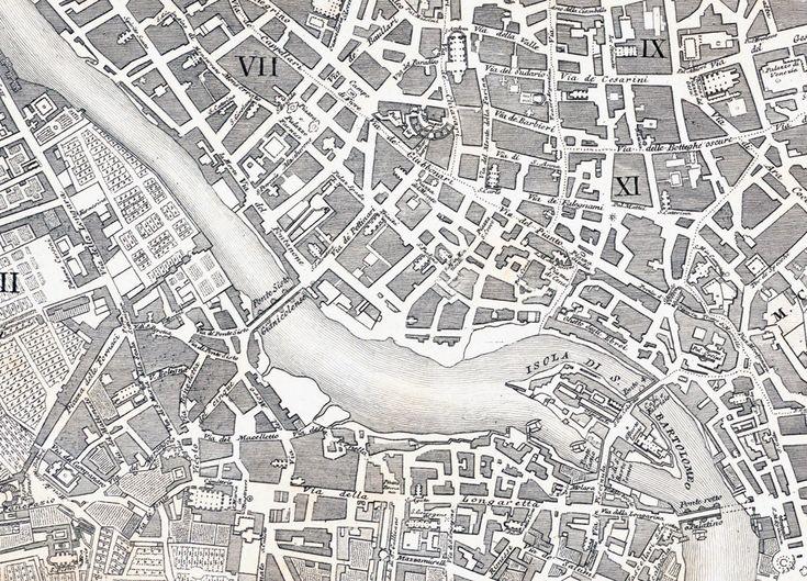 Cartographic Grounds: Projecting the Landscape Imaginary: nuova pianti di roma moderna: Design Observer