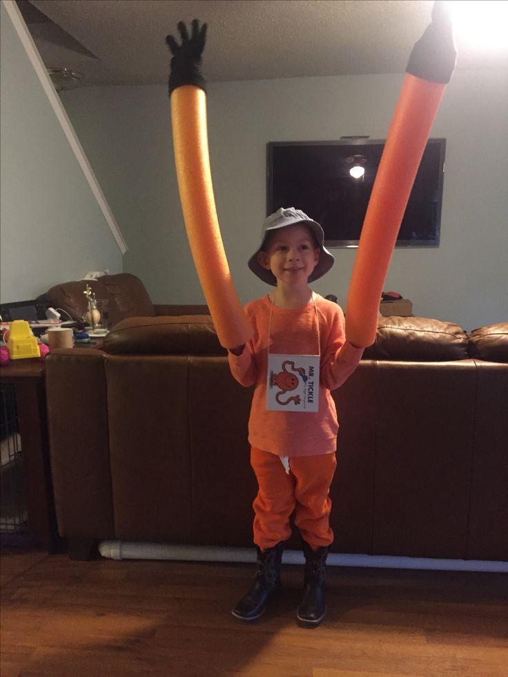 Mr. Tickle costume