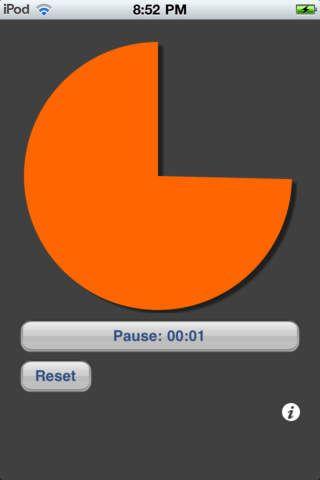 VisTimer Free app - visuellt tidshjälpmedel