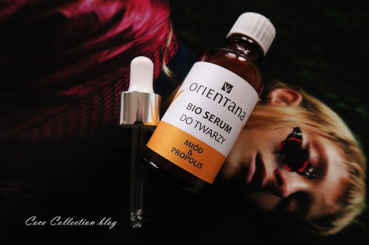 COCO COLLECTION : ORIENTANA BIO SERUM DO TWARZY MIÓD & PROPOLIS