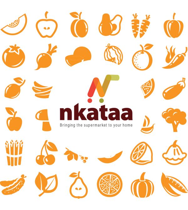 MEALS ON WHEELS: Nkataa brand Identity by Haruna Godwin